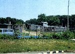 Baraccopoli a Porta San Sebastiano vista da via Cilicia